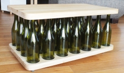 bottle table